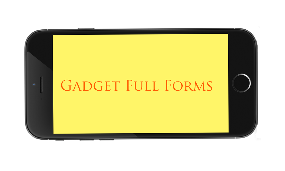 gadget full forms