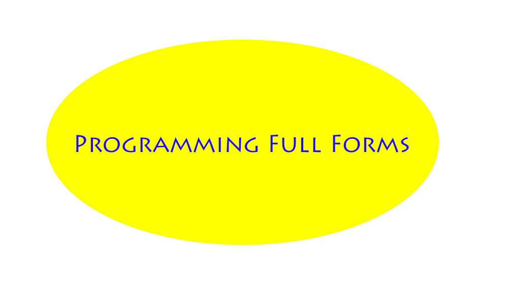programming full forms