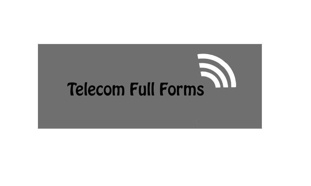 telecom full forms